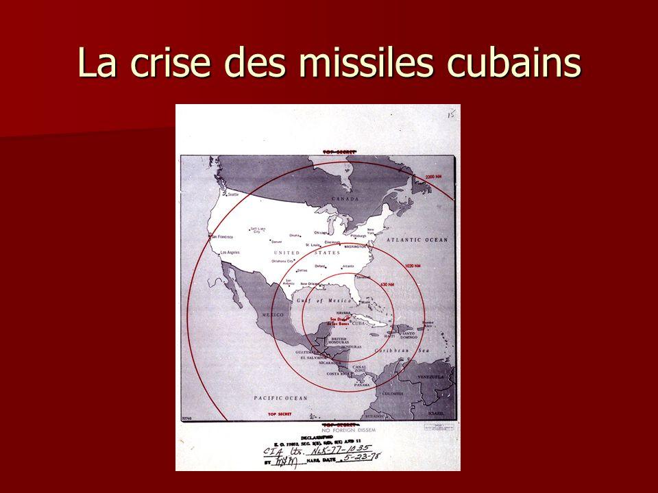 La crise des missiles cubains