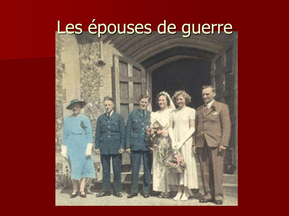 Les épouses de guerre