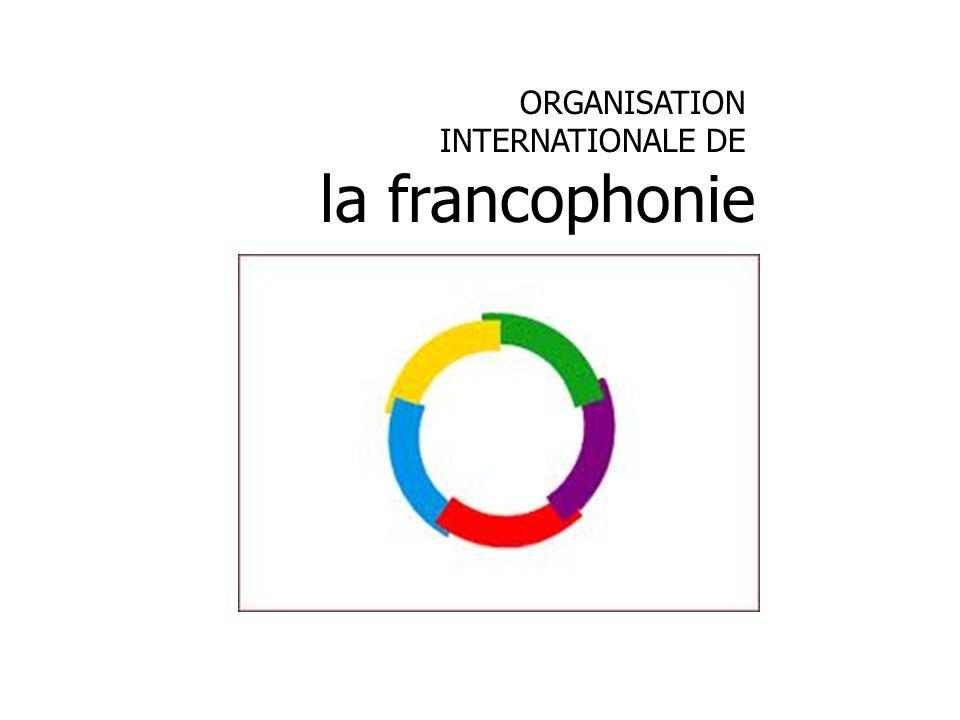 ORGANISATION INTERNATIONALE DE la francophonie