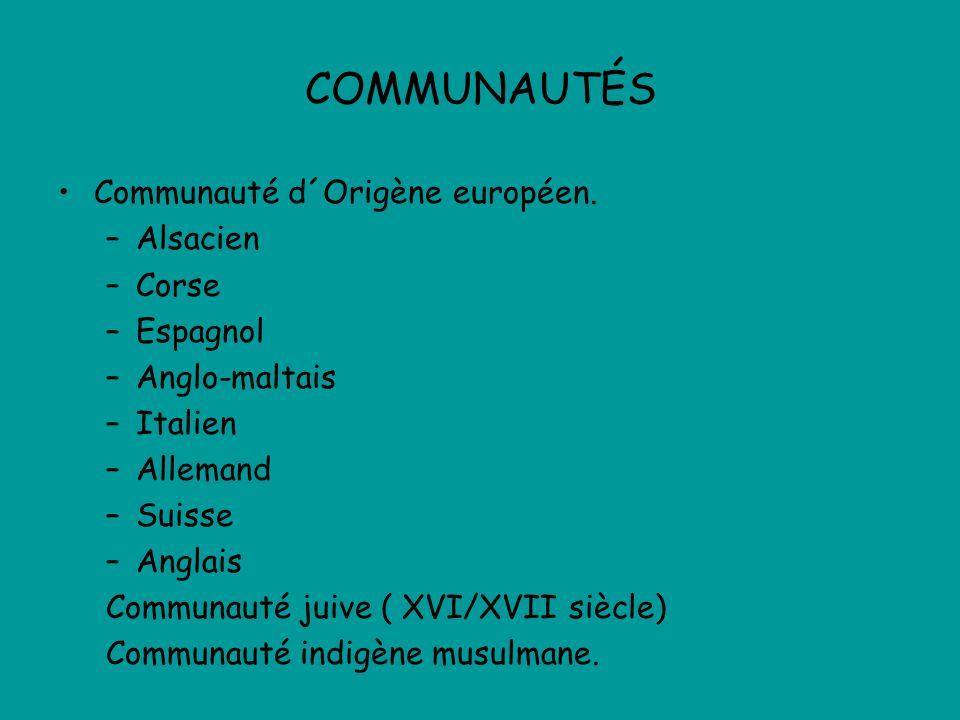 COMMUNAUTÉS Communauté d´Origène européen.