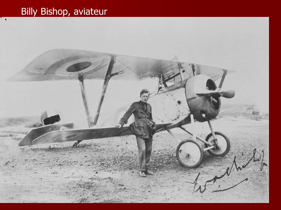 Billy Bishop, aviateur