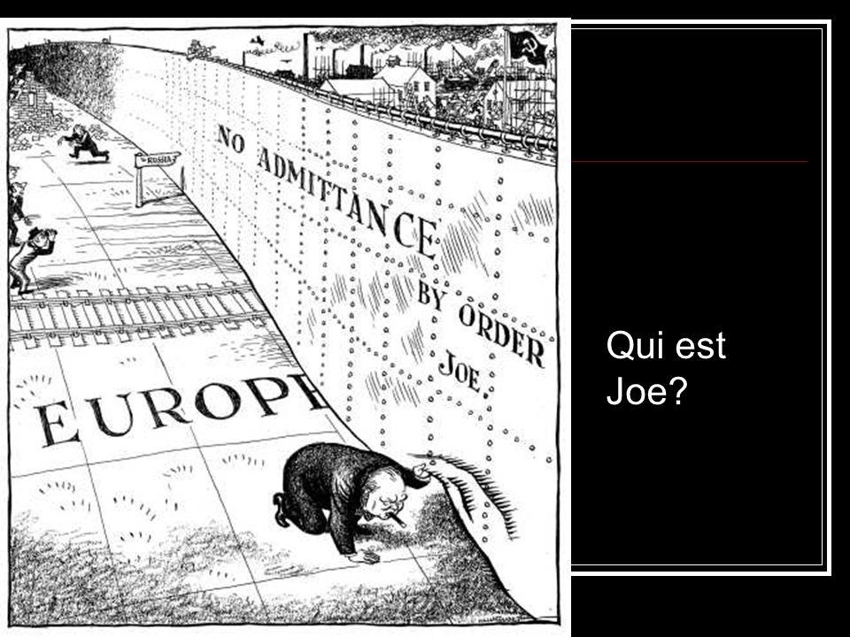 Qui est Joe?