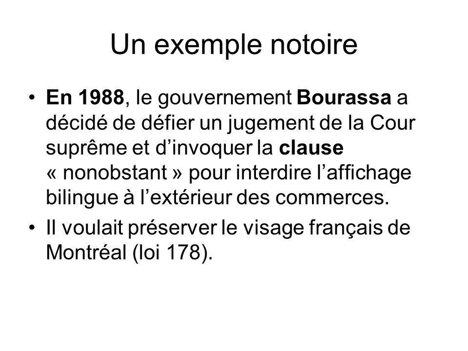 4.C La Charte et ses dispositions: quelle section assure quel droit.