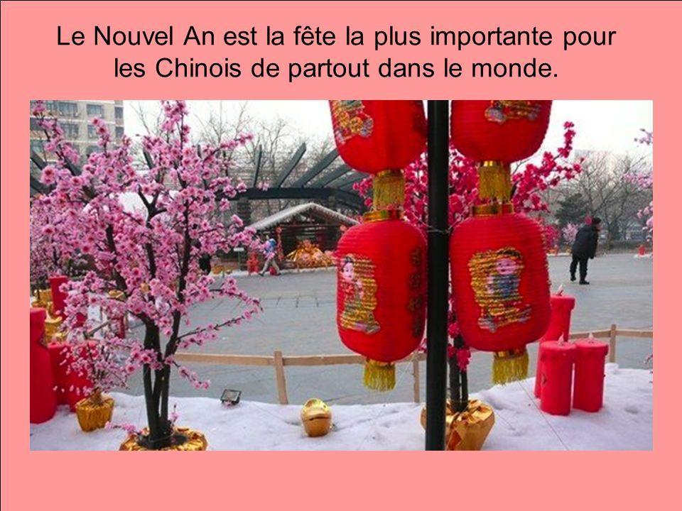 Le Nouvel An est la fête la plus importante pour les Chinois de partout dans le monde.