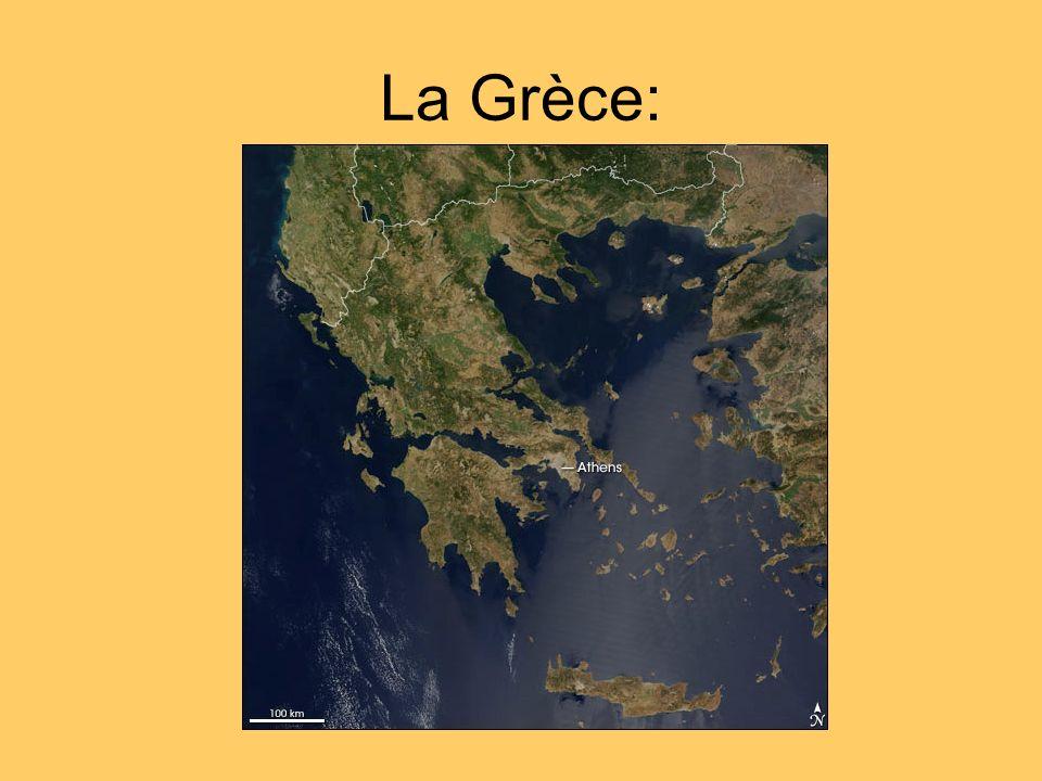 Le territoire Grec : -Établissement sur la rive orientale de la mer Égée -Établissement dans le sud de lItalie, en Sicile et sur une partie des rives de la mer Noire.