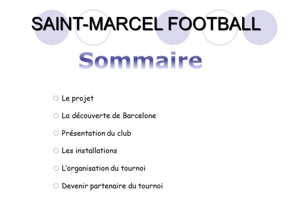 SAINT-MARCEL FOOTBALL La catégorie U13 représente pour le club de Saint Marcel notre avenir.