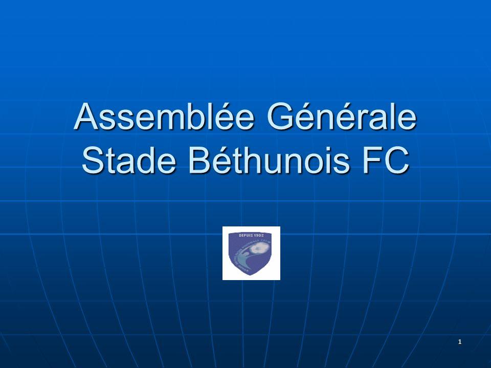1 Assemblée Générale Stade Béthunois FC