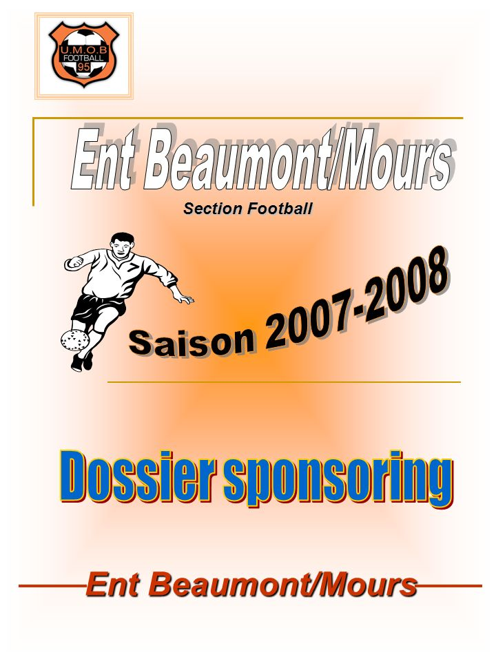 Ent Beaumont/Mours Section Football
