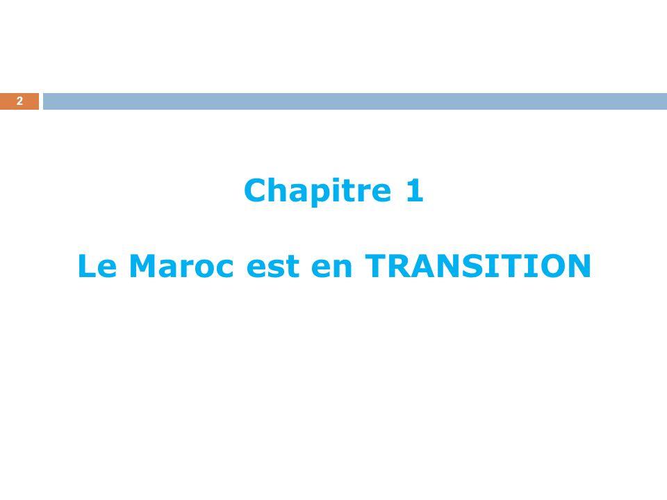 3 Transition démographique ; Transition économique ; Transition sociale et culturelle ; Transition démocratique.