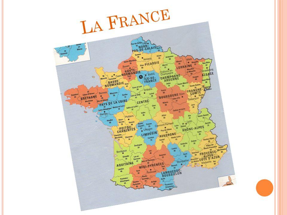 L ANGUEDOC -R OUSSILLON La région est: Montpellier