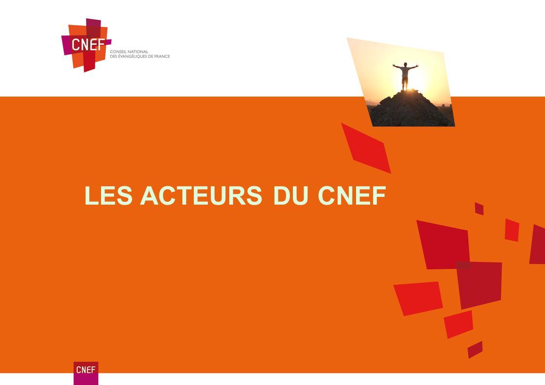 Un repositionnement L ÉVOLUTION DE LA FEF La FEF transfère au CNEF ses activités qui intéressent tous les évangéliques.