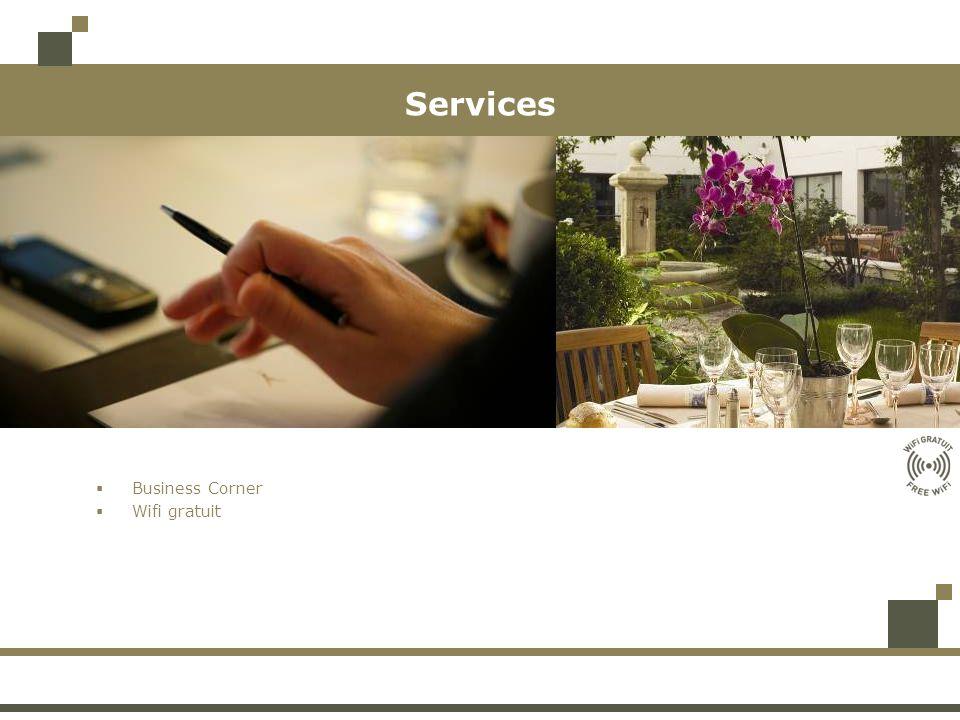 Services Business Corner Wifi gratuit