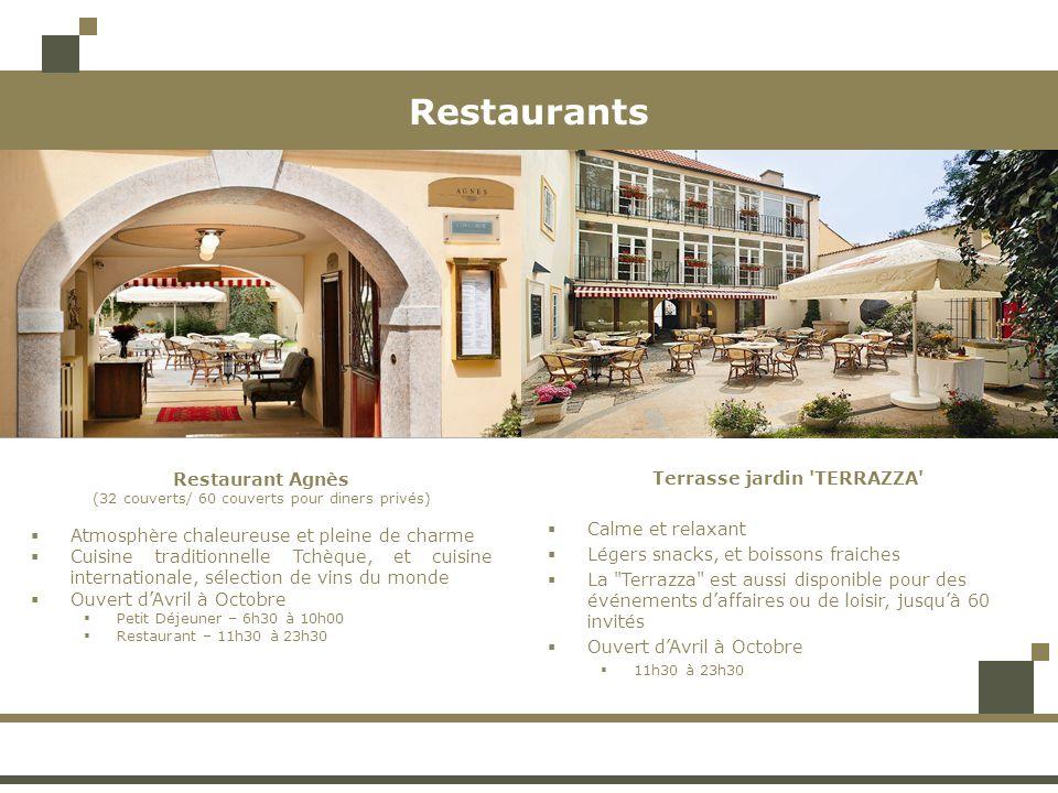 Bar Bar Lobby (20 couverts) Au rez-de-chaussée Pour lapéritif avant ou après le diner Chaleureux et confortable Possibilité de commander sur la carte du restaurant