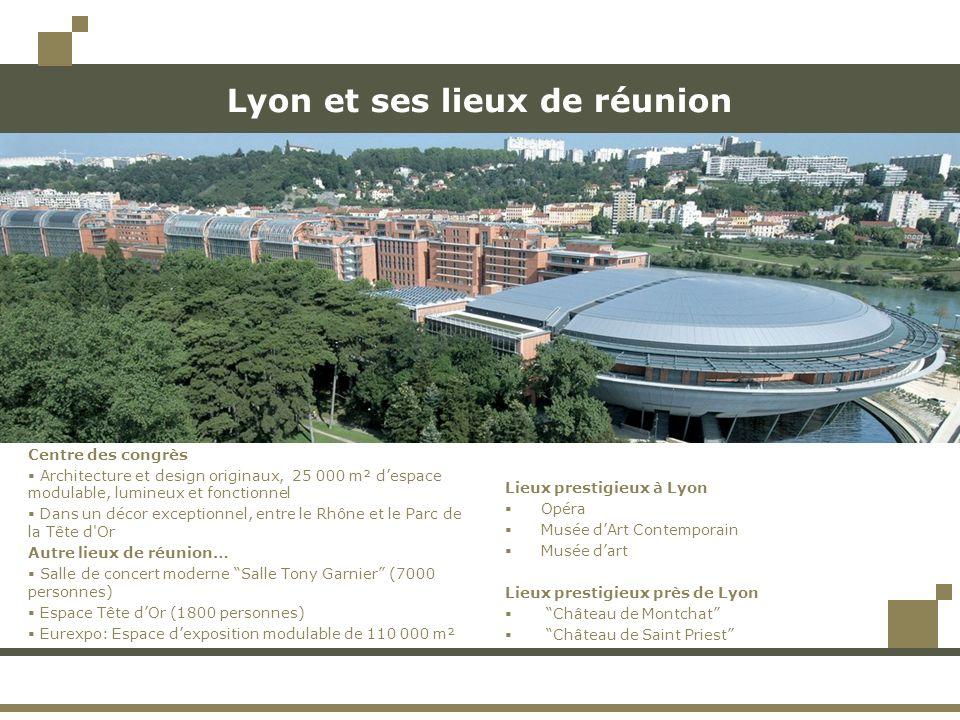 Lyon et ses lieux de réunion Lieux prestigieux à Lyon Opéra Musée dArt Contemporain Musée dart Lieux prestigieux près de Lyon Château de Montchat Chât