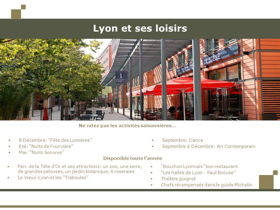Lyon et ses loisirs Bouchon Lyonnais bon restaurant Les halles de Lyon - Paul Bocuse Théâtre guignol Chefs récompensés dans le guide Michelin 8 Décemb