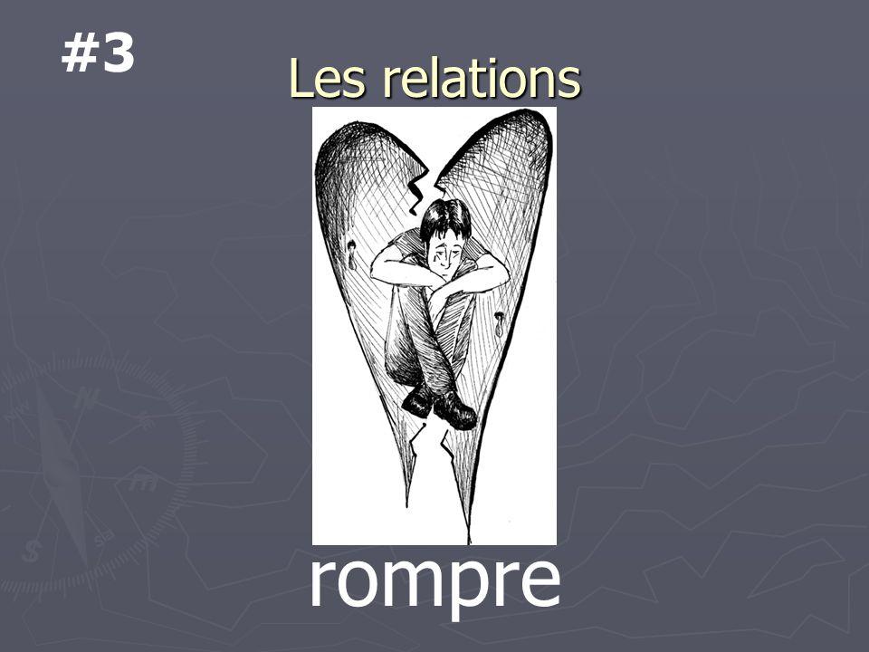 Les relations rompre #3