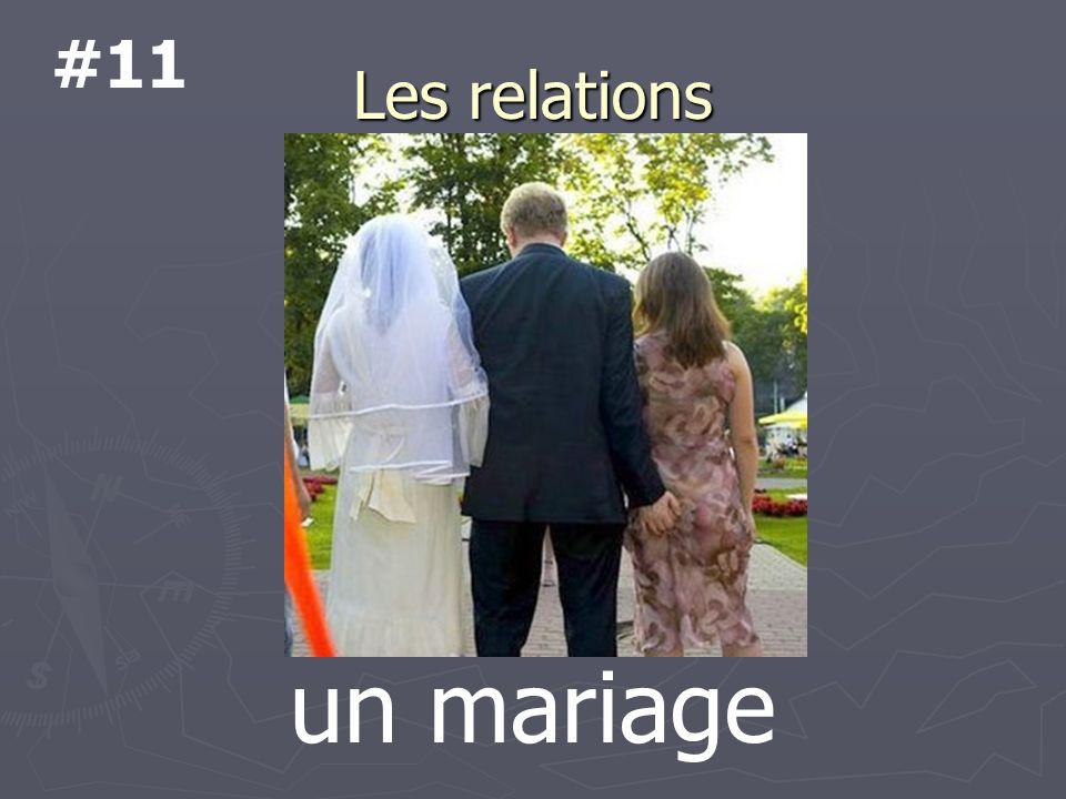 Les relations un mariage #11