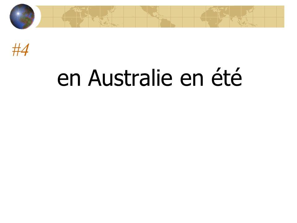 #4 en Australie en été