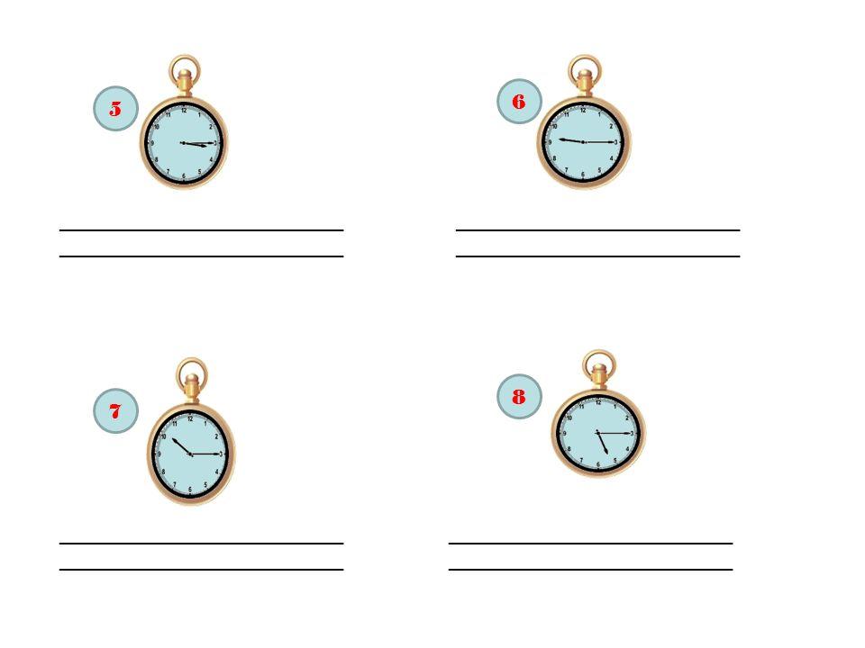 Philippe : Il est sept heures et quart.Isabelle : Mais non, il est huit heures et quart.