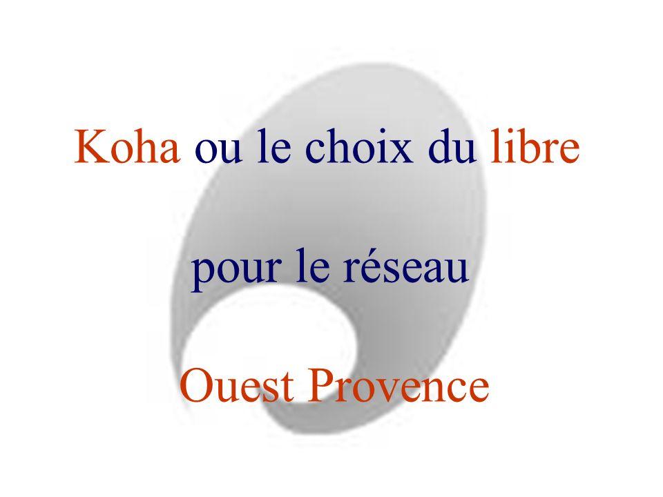 Koha ou le choix du libre pour le réseau Ouest Provence