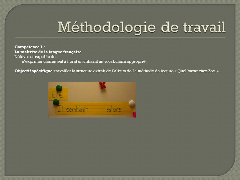 Competence 1 : La maîtrise de la langue française Lélève est capable de : - sexprimer clairement à loral en utilisant un vocabulaire approprié ; Objec