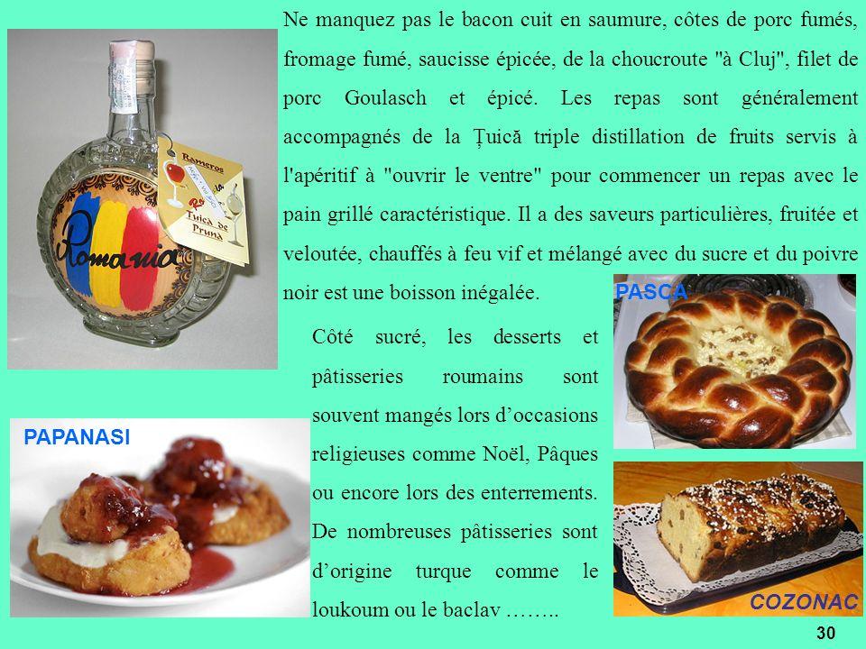 Ne manquez pas le bacon cuit en saumure, côtes de porc fumés, fromage fumé, saucisse épicée, de la choucroute