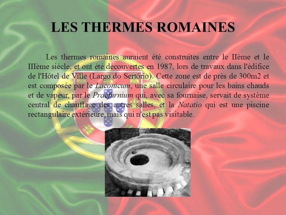 LES THERMES ROMAINES Les thermes romaines auraient été construites entre le IIème et le IIIème siécle, et ont été découvertes en 1987, lors de travaux