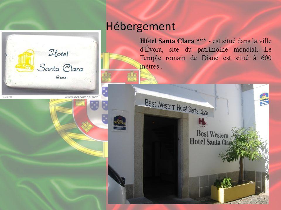 Hébergement Hôtel Santa Clara *** - est situé dans la ville d'Évora, site du patrimoine mondial. Le Temple romain de Diane est situé à 600 mètres.