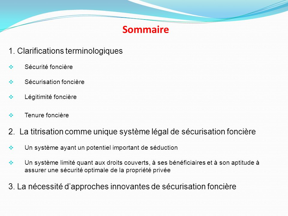 Sommaire 1.