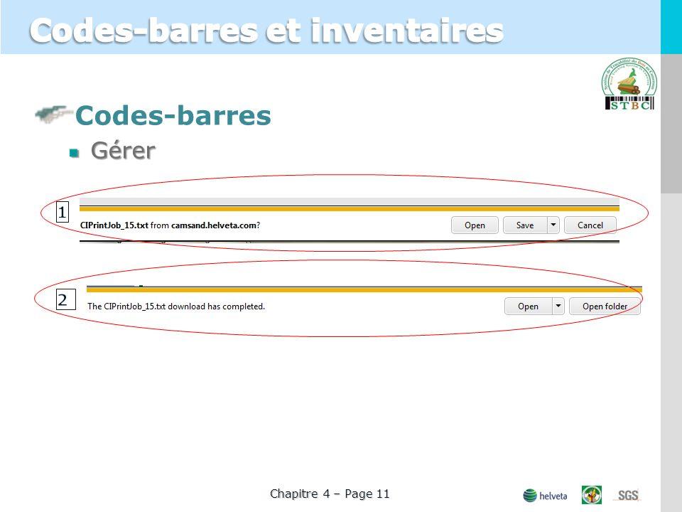 Codes-barresGérer Chapitre 4 – Page 11