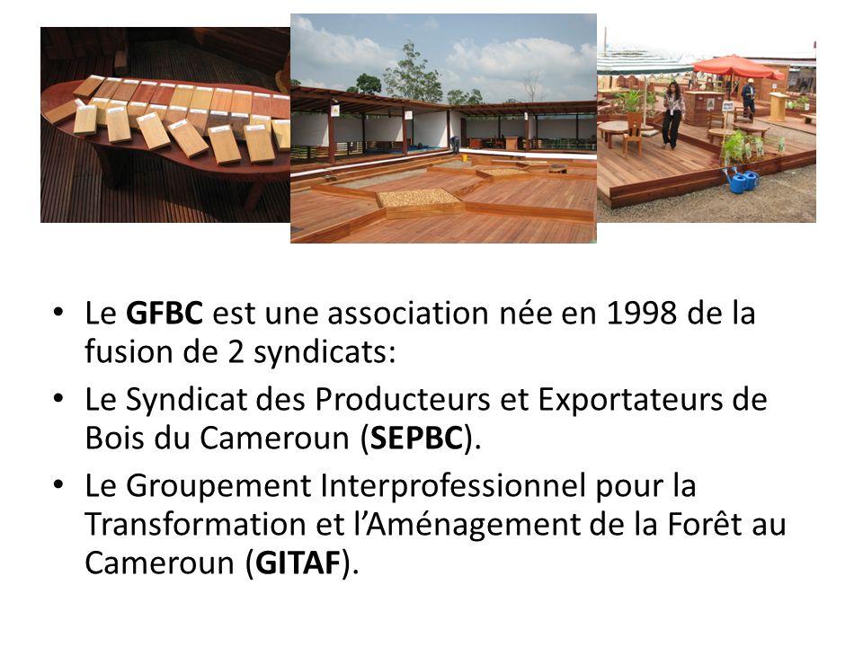 Le GFBC est une association née en 1998 de la fusion de 2 syndicats: Le Syndicat des Producteurs et Exportateurs de Bois du Cameroun (SEPBC). Le Group