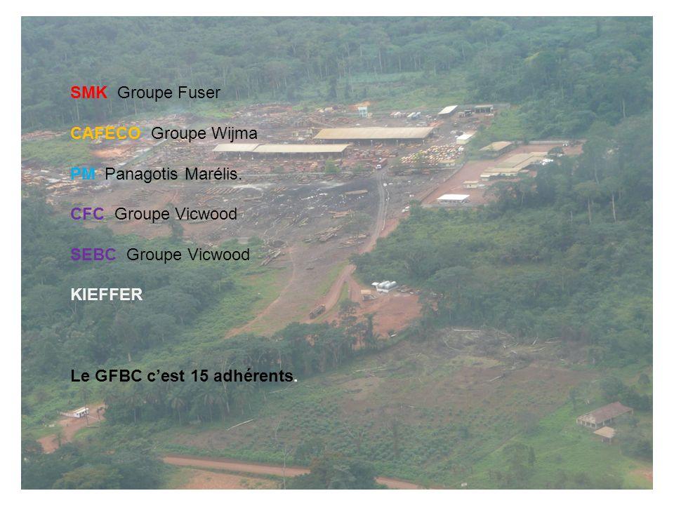 SMK Groupe Fuser CAFECO Groupe Wijma PM Panagotis Marélis. CFC Groupe Vicwood SEBC Groupe Vicwood KIEFFER Le GFBC cest 15 adhérents.
