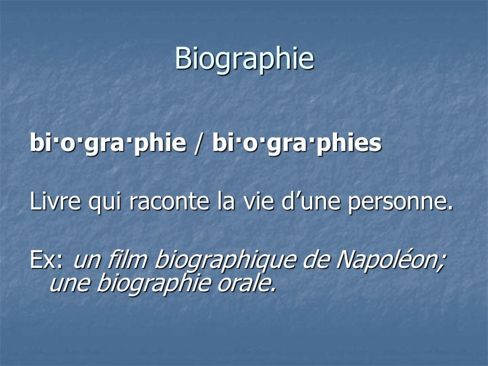 Littérature à base de faits réels à propos de personnes Biographie Biographie Autobiographie Autobiographie Mémoires Mémoires