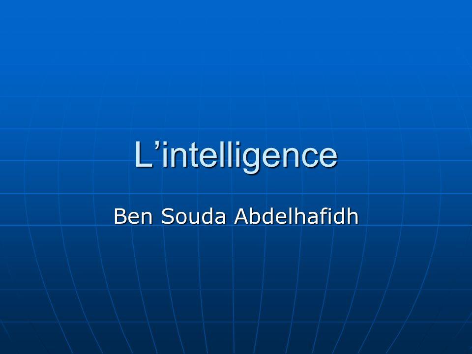 Lintelligence Ben Souda Abdelhafidh