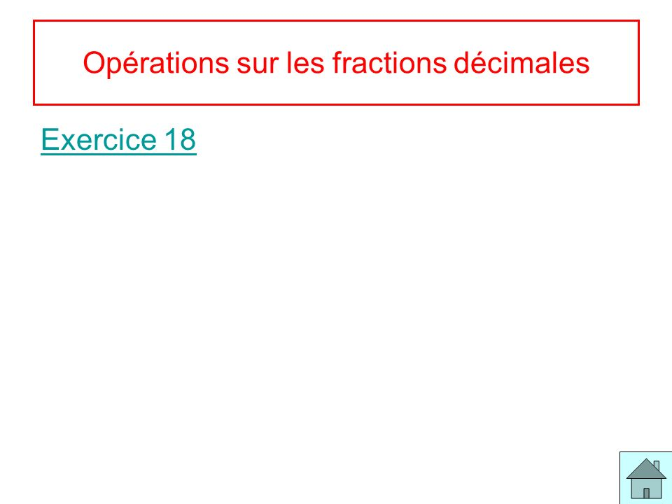 10 Pourcentages Exercice 19 Exercice 20