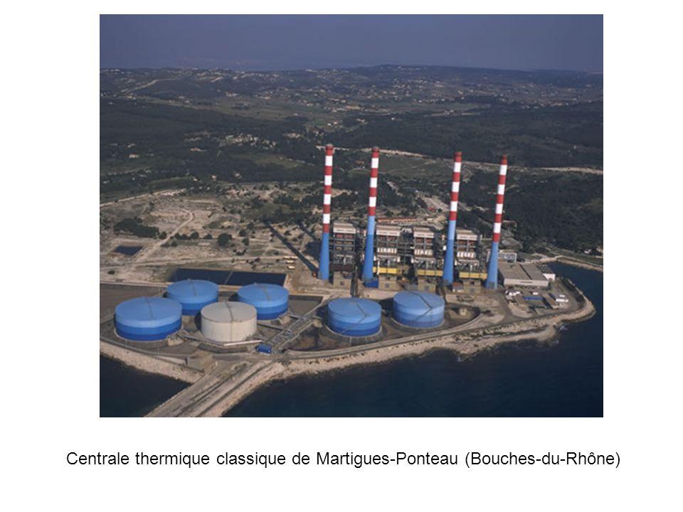 Centrale thermique classique de Martigues-Ponteau (Bouches-du-Rhône)