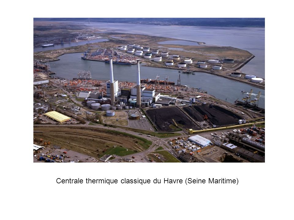 Centrale thermique classique du Havre (Seine Maritime)