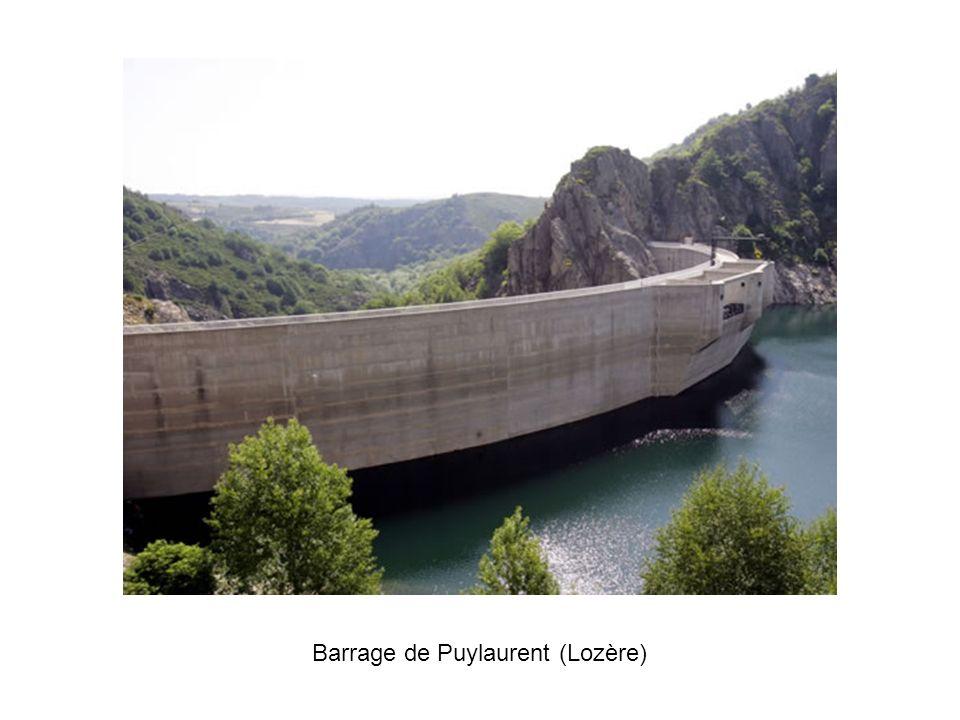 Barrage de Puylaurent (Lozère)