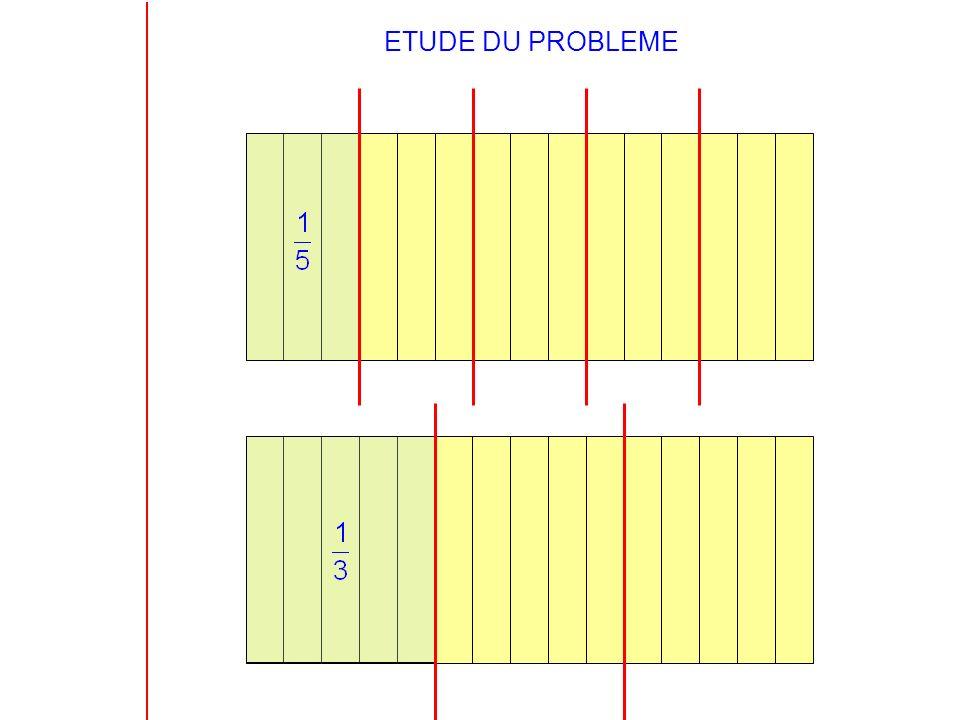 ETUDE DU PROBLEME