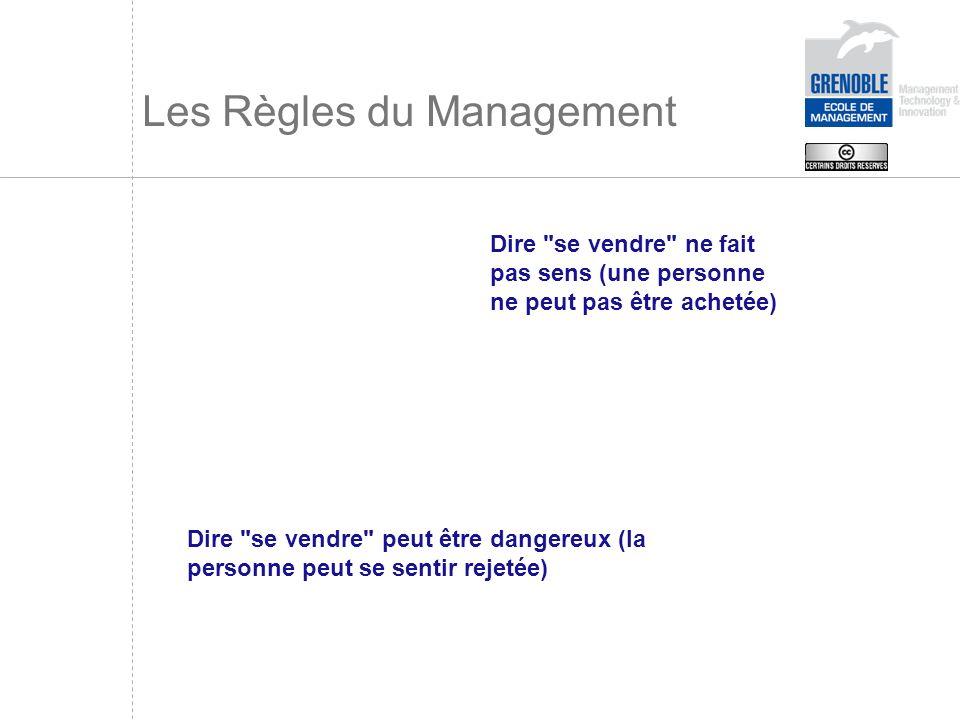 Les Règles du Management Dire