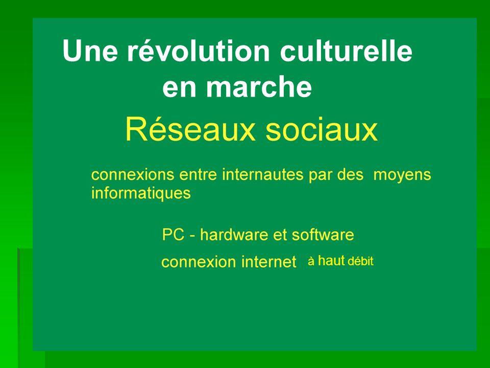 Une révolution culturelle en marche à haut débit