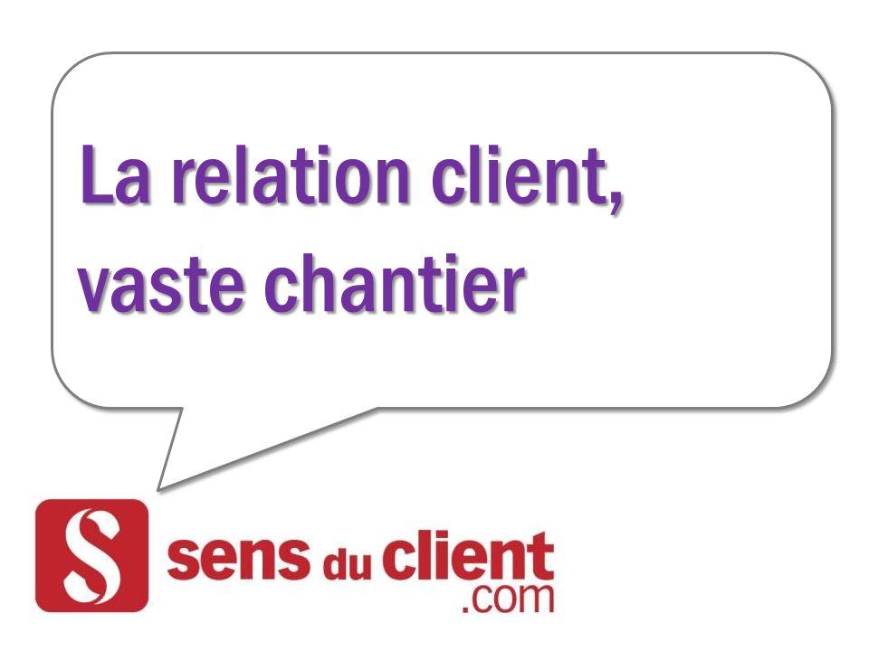 La relation client, vaste chantier La relation client, vaste chantier