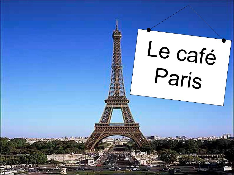 Le café Paris