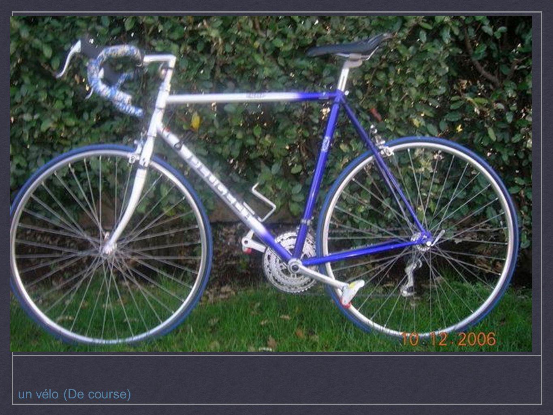un vélo (De course)