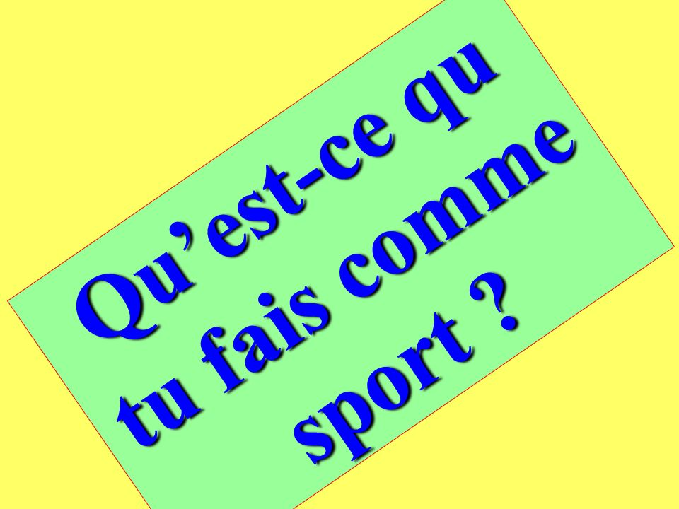 So try these too ! Translate these phrases into French, using je voudrais. 1)I do some canoeing. 2)I do some dry skiing. 3)I do some paragliding. 4)I