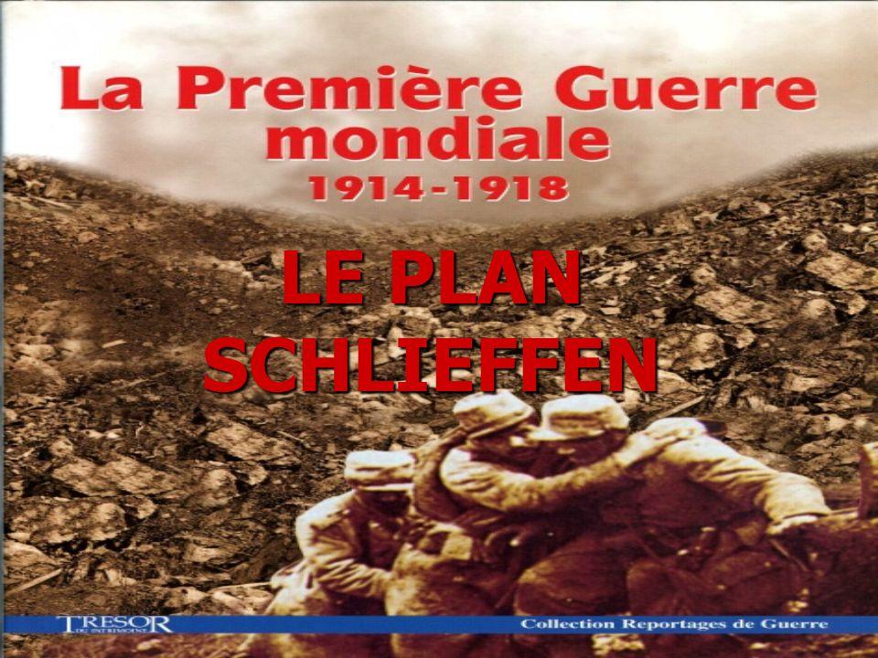 Léchec du plan Schlieffen Léchec du plan Schlieffen Lorsque la guerre a été déclarée, les Allemands ont déclaré aux Belges que la France les menaçait et ils ont demandé le droit de passage à travers le territoire belge.