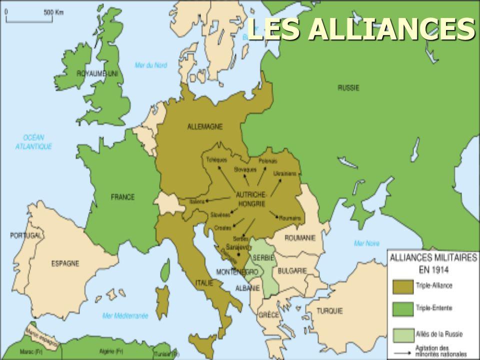 Alfred Von Schlieffen Le chef de larmée allemande, Alfred Von Schlieffen, est requis de créer un plan qui préviendrait la guerre sur deux fronts.