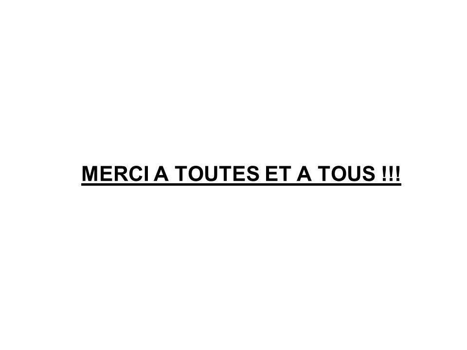 MERCI A TOUTES ET A TOUS !!!