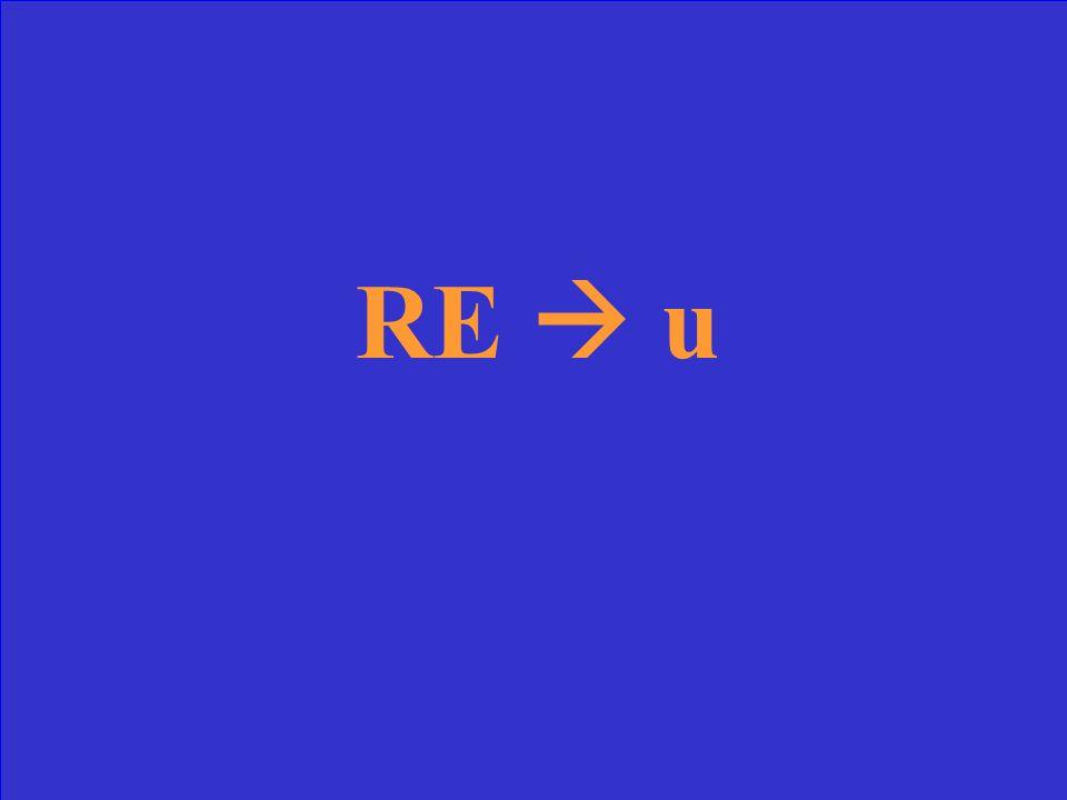 Comment former le participe passé des verbes RE?