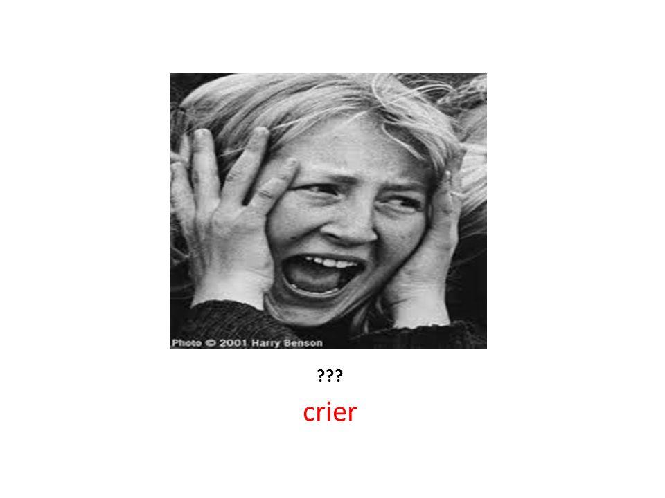 ??? crier